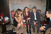 Camilla Nesbitt, Elizabetta Cipriani and Nicblo Sprovieri Pietro Valsecchi. SIMON de PURY AND THE PARTNERS OF PHILLIPS de PURY & COMPANY Host a dinner in honour of <br />ILYA AND EMILIA KABAKOV. FOLLOWED BY THE BOX PARTY HOSTED  BY QUINTESSENTIALLY.  WILTONS <br />GRACES ALLEY  OFF ENSIGN STREET, London E1. 12 October 2007. -DO NOT ARCHIVE-© Copyright Photograph by Dafydd Jones. 248 Clapham Rd. London SW9 0PZ. Tel 0207 820 0771. www.dafjones.com.