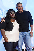 l to r: Gabourey Sidibe and Tyler Perry at Tyler Perry's special New York Premiere of ' I Can Do Bad all By Myself ' held at the School of Visual Arts Theater on September 8, 2009 in New York City.