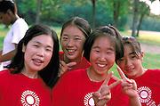 Japanese dance students & teacher at Como Park ages 28 &15.  St Paul Minnesota USA