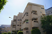 Mark Kit House (4 Aharonovich corner of 13 Luria) a residential building designed in the International Style in 1939 by architect Robert Hoff Bauhaus Architecture in Tel Aviv White City. The White City refers to a collection of over 4,000 buildings built in the Bauhaus or International Style in Tel Aviv from the 1930s by German Jewish architects who emigrated to the British Mandate of Palestine after the rise of the Nazis. Tel Aviv has the largest number of buildings in the Bauhaus/International Style of any city in the world. Preservation, documentation, and exhibitions have brought attention to Tel Aviv's collection of 1930s architecture.