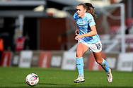 Manchester City forward Georgia Stanway (10) during the FA Women's Super League match between Manchester United Women and Manchester City Women at Leigh Sports Village, Leigh, United Kingdom on 14 November 2020.