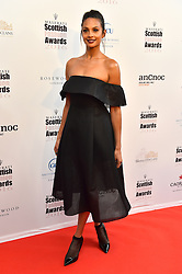 Alesha Dixon attending the Scottish Fashion Awards, at the Rosewood Hotel in London. Picture date: Friday October 21, 2016. Photo credit should read: Matt Crossick/ EMPICS Entertainment.