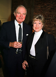 SIR DALLAS & LADY BERNARD at a party in London on 9th November 1999.<br /> MYU 18