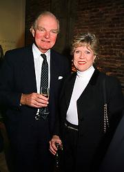 SIR DALLAS & LADY BERNARD at a party in London on 9th November 1999.<br /> MYU 18