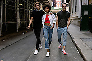 PONY International SS2017 campaign. Sneakers photo shoot in New York
