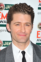 © Licensed to London News Pictures. 25/03/2012. London, England.Matthew Morrison  attends the  Jameson Empire Awards held at the Grosvenor Hotel London  Photo credit : ALAN ROXBOROUGH/LNP