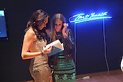 TAMARA ECCLESTON; LUCY PACKMAN, The Lighthouse Gala auction in aid of the Terrence Higgins Trust. Christies. London. 19 March 2012.