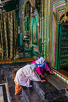 Shah Hamdan Shrine, Srinagar, Kashmir, Jammu and Kashmir State, India.