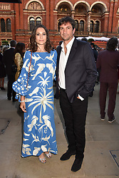 Astrid Munoz and Eduardo Novillo Astrada at the Victoria & Albert Museum's Summer Party in partnership with Harrods at The V&A Museum, Exhibition Road, London, England. 20 June 2018.
