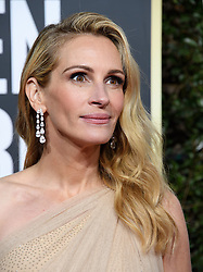 January 6, 2019 - Beverly Hills, California, United States of America - Golden Globe nominee Julia Roberts attends the 76th Annual Golden Globe Awards at the Beverly Hilton in Beverly Hills, California on  Sunday, January 6, 2019. HFPA/POOL/PI (Credit Image: © Prensa Internacional via ZUMA Wire)