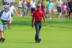 August 26, 2018 - Paramus, NJ, U.S. - PARAMUS, NJ - AUGUST 26:  Tiger Woods of the United States walks up the 16th fairway   during the final round of The Northern Trust on August 26, 2018 at the Ridgewood Championship Course in Ridgewood, New Jersey. (Photo by Rich Graessle/Icon Sportswire) (Credit Image: © Rich Graessle/Icon SMI via ZUMA Press)