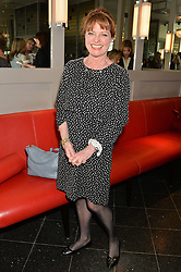 JANET ELLIS at a ladies lunch in aid of the charity Maggie's held at Le Cafe Anglais, 8 Porchester Gardens, London on 29th April 2014.