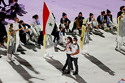 Opening ceremony, Tokyo 2020, Hamcho Ahmad Saber <br /> Olympic Games Tokyo 2021<br /> © Hippo Foto - Stefan Lafrentz<br /> 23/07/2021