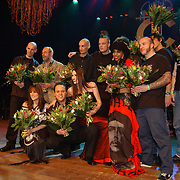 Harpengala 2004, alle prijswinnaars Zilveren en Gouden Harpen