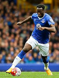 Everton's Romelu Lukaku   - Mandatory byline: Matt McNulty/JMP - 07966386802 - 12/09/2015 - FOOTBALL - Goodison Park -Everton,England - Everton v Chelsea - Barclays Premier League