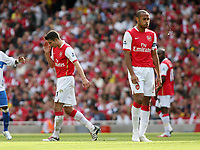 Photo: Chris Ratcliffe.<br />Arsenal v Middlesbrough. The Barclays Premiership. 09/09/2006.<br />Thierry Henry and Robin van Persie have another bad day.