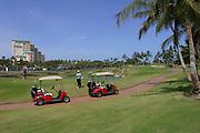 Golf Course, KoOlina Resort, Oahu, Hawaii<br />