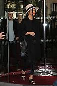 SELENA GOMEZ leaving hotel in Paris