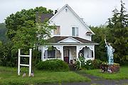 Patriotic home, Aberdeen WA