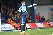 Andy Lonergan during the EFL Sky Bet League 1 match between Luton Town and Rochdale at Kenilworth Road, Luton, England on 2 March 2019.