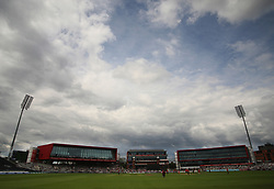 General view of Emirates Old Trafford - Mandatory by-line: Jack Phillips/JMP - 23/07/2017 - CRICKET - Emirates Old Trafford - Manchester, United Kingdom - Lancashire Lightning v Durham Jets - Natwest T20 Blast