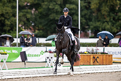 Helgstrand Andreas, DEN, Queenparks Wendy<br /> World Championship Young Horses Verden 2021<br /> © Hippo Foto - Dirk Caremans<br /> 27/08/2021