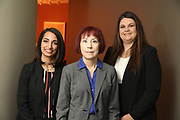 SHOT 12/4/19 11:12:02 AM - McGuane & Hogan, P.C., a Colorado family law firm located in Denver, Co. Includes attorneys Kathleen Ann Hogan, Halleh T. Omidi and Katie P. Ahles. (Photo by Marc Piscotty / © 2019)
