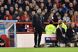 February 25, 2019 - Nottingham, England, United Kingdom - Derby County Manager Frank Lampard  during the Sky Bet Championship match between Nottingham Forest and Derby County at the City Ground, Nottingham on Monday 25th February 2019. (Credit Image: © Mi News/NurPhoto via ZUMA Press)