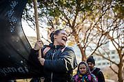 Wellington, NZ. 04.07.2016. Māori Language Week public procession. Photo credit: Stephen A'Court.  COPYRIGHT ©Stephen A'Court