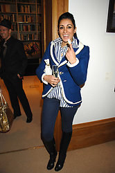 SERENA REES at a private view of Paul Simonon's recent paintings held at Thomas Williams Fine Art, 22 Old Bond Street, London on 15th April 2008.<br /><br />NON EXCLUSIVE - WORLD RIGHTS
