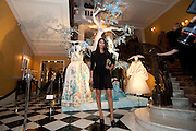 REENA HAMMER, Unveiling of the Dior Christmas Tree by John Galliano at Claridge's. London. 1 December 2009 *** Local Caption *** -DO NOT ARCHIVE-© Copyright Photograph by Dafydd Jones. 248 Clapham Rd. London SW9 0PZ. Tel 0207 820 0771. www.dafjones.com.<br /> REENA HAMMER, Unveiling of the Dior Christmas Tree by John Galliano at Claridge's. London. 1 December 2009