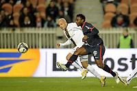 FOOTBALL - FRENCH CHAMPIONSHIP 2009/2010 - L1 - PARIS SG v FC SOCHAUX - 13/03/2010 - PHOTO JEAN MARIE HERVIO / DPPI - STEPHANE SESSEGNON (PSG)