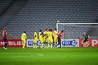 Goal Simon KJAER - 14.01.2014 - Lille / Nantes - 1/4Finale Coupe de la Ligue<br />Photo : Dave Winter / Icon Sport