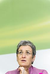 28.05.2014, Gruener Klub, Wien, AUT, Gruene, Nach der EU-Wahl und Aktuelles. im Bild Spitzenkandidatin der Gruenen zur EU-Wahl Ulrike Lunacek // Topcandidate of the Greens for EU-Election Ulrike Lunacek during press conference of the greens about EU-Election at pressroom of the greens in Vienna, Austria on 2014/05/28. EXPA Pictures © 2014, PhotoCredit: EXPA/ Michael Gruber