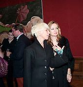 MIMI; LUCY YEOMANS, Capturing Claudia. Interpretations of Claudia Schiffer by leading contemporary artists for Harpers Bazaar magazine. Colnaghis Gallery. Old Bond st. and afterwards at Locanda Locatelli's restaurant. Portman sq. London. 2 November 2009.