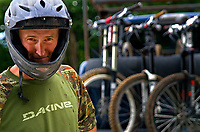 Sean Pepin of Banner Elk, North Carolina. Longtime High Country climber, skier, boarder, and all around mountain biker. 2010.