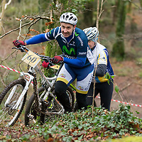 Vincent Hehir competing in the Ennis CX Cyclocross Race