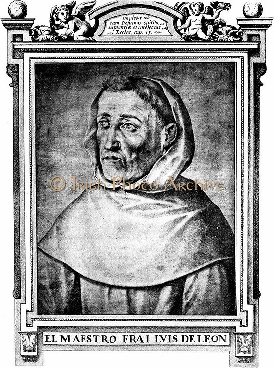 Fray Luis Ponce de León (sometimes Luis de León) (born Belmonte, in Cuenca province, of the Castilian region of La Mancha, Spain, in 1527 – 23 August 1591 AD) was a Spanish lyric poet and an Augustinian canon, of the Spanish Golden Age