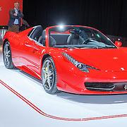 NLD/Amsterdam/20150416 - Opening AutoRai 2015, Ferrari