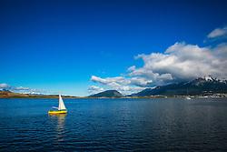 Navegação pelo Canal de Beagle na região de Ushuaia, Argentina. FOTO: Jefferson Bernardes/ Agência Preview