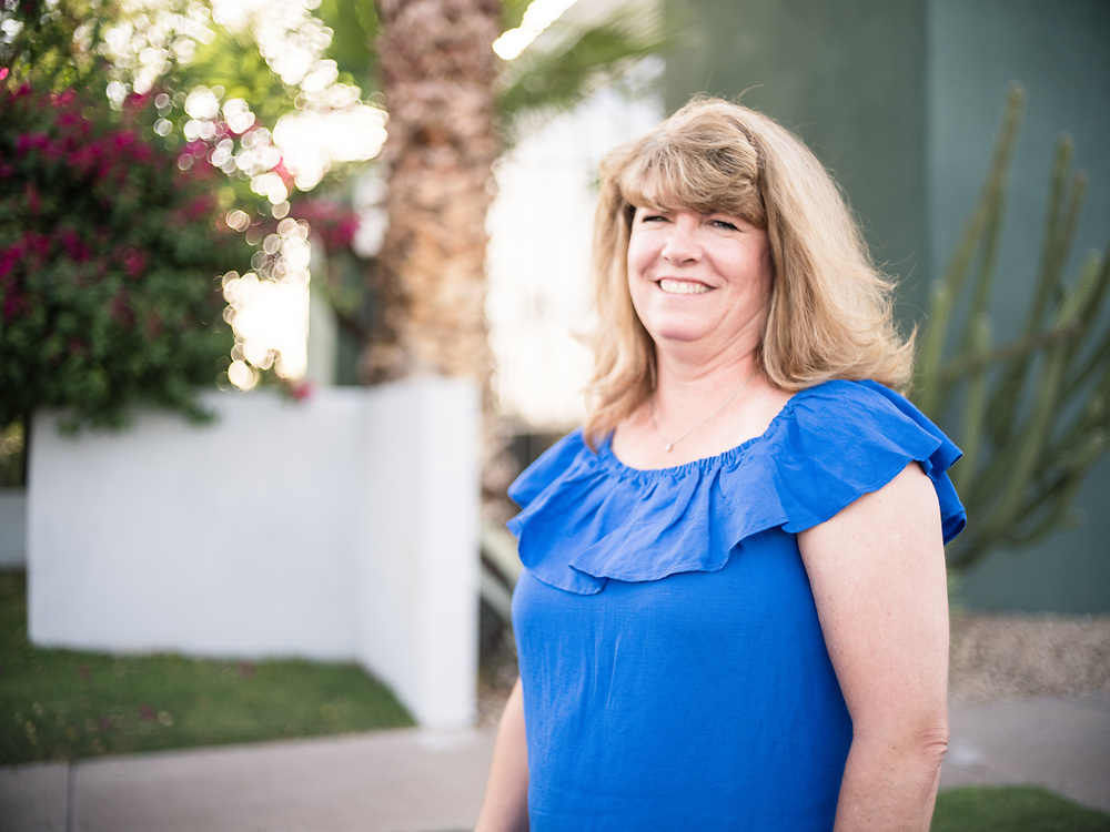 PHOENIX, AZ – JUNE 8, 2021: Carolyn Russell, Practice Administrator at Family Practice Specialists.