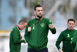 Republic of Ireland's Shane Duffy on the pitch prior to the UEFA Euro 2020 Qualifying, Group D match at the Victoria Stadium, Gibraltar.