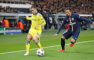 Chelsea's Eden Hazard on the ball during the Champions League match between Paris Saint-Germain and Chelsea at Parc des Princes, Paris, France on 17 February 2015. Photo by Phil Duncan.