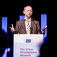 Brussels, Belgium 9 October 2014<br /> Urban Development Network conference.<br /> Normunds Popens, Deputy Director-General, DG Regional and Urban Policy, European Commission.<br /> Photo: Ezequiel Scagnetti