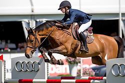 Thijssen Sanne, (NED), Con Quidam RB<br /> Nederlands kampioenschap springen - Mierlo 2016<br /> © Hippo Foto - Dirk Caremans<br /> 21/04/16