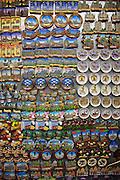 Belgium Brussels Stall sells souvenirs