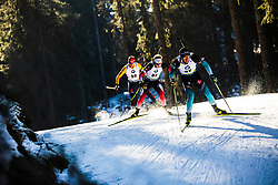 Quentin Fillon Maillet (FRA) during the Men 20 km Individual Competition at day 1 of IBU Biathlon World Cup 2019/20 Pokljuka, on January 23, 2020 in Rudno polje, Pokljuka, Pokljuka, Slovenia. Photo by Peter Podobnik / Sportida