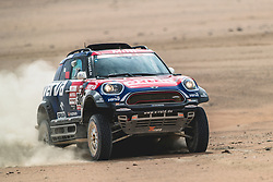 Jakub Przygonski (POL) of Orlen X-Raid Team races during stage 4 of Rally Dakar 2019 from Arequipa to Tacna, Peru on January 10, 2019. // Flavien Duhamel/Red Bull Content Pool // AP-1Y3A63AK52111 // Usage for editorial use only // Please go to www.redbullcontentpool.com for further information. //
