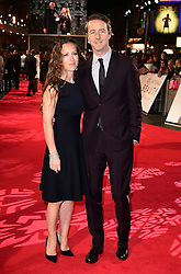 Shauna Robertson and Edward Norton attending the European premiere of Collateral Beauty, held at the Vue Leicester Square, London. PRESS ASSOCIATION Photo. Picture date: Monday 15th December, 2016. See PA Story SHOWBIZ Beauty. Photo credit should read: Ian West/PA Wire