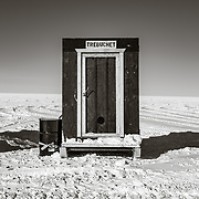 South Pole relief station